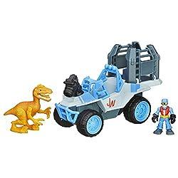5. Playskool Heros Jurassic World Dino Tracker 4X4