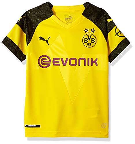 PUMA Youth Borussia Dortmund Licensed Replica Jersey 2018-2019, Medium, Home