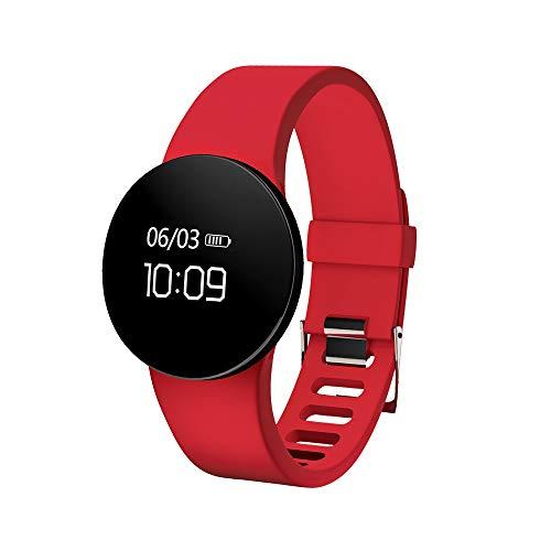 GOHUOS Smart Watch, Touchscreen Bluetooth Digital Outdoor Sportuhr Wasserdichtes Licht Schlank Alarm Chronograph Kalender Armbanduhr für Männer Frauen, kompatibel mit Android und iOS
