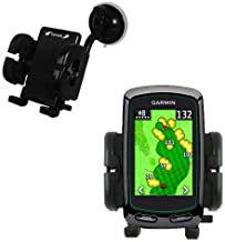 Gomadic Brand Flexible Car Auto Windshield Holder Mount Designed for The Garmin Approach G3 G5 G6 - Gooseneck Suction Cup Style Cradle