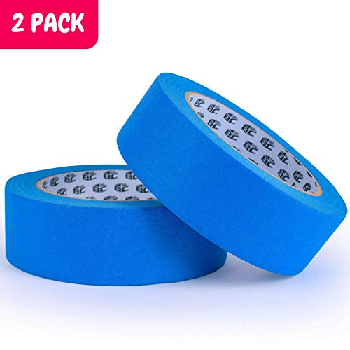 Bates- Painters Tape, 1.4 inch Paint Tape, 2 Pack of Painter Tape, Painting Tape, Masking Tape, Blue Masking Tape, Painting Supplies, Wall Safe Tape, Paint Tape, Blue Painter Tape, Tape for Drop Cloth Photo #4
