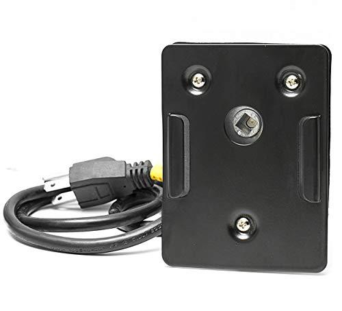 Minostar Universal Grill Electric Replacement Rotisserie Motor 120 volt 4 Watt On/Off Switch, Black