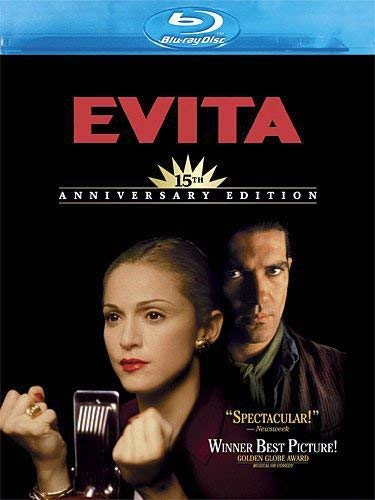 Evita (15th Anniversary Edition) [Blu-ray] by Madonna