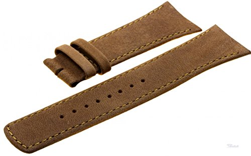 Boccia Original Lederband Armband für Uhr Modell 3165-01