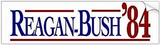 Yilooom Auto Decal Bumper Sticker for Cars, Trucks - Reagan-Bush 84 Presidential