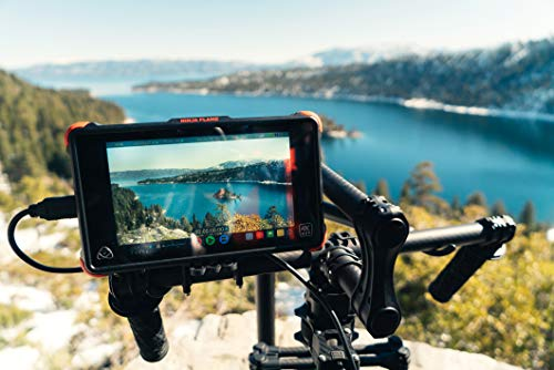 Atomos Ninja Flame Kit (Includes 7-inch 10-bit AtomHDR 1500nit Field Monitor Plus Full...