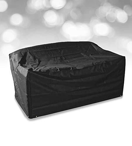 Bosmere - Abdeckhauben für Sofas in Schwarz, Größe 2-3 seater sofa cover