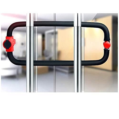Anti-elektrische boren sleutelloze vergrendeling glazen deur, slot dubbele deur u-Shaped slot, anti-diefstal slot, winkel slot, u-Lock, schuifdeur slot Inner Diameter 283mm