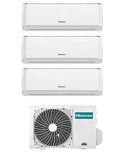 Climatizzatore Trial Split 9+ 12+12 Btu, Inverter, Wi-Fi, Gas R32 - Hisense Energy Pro