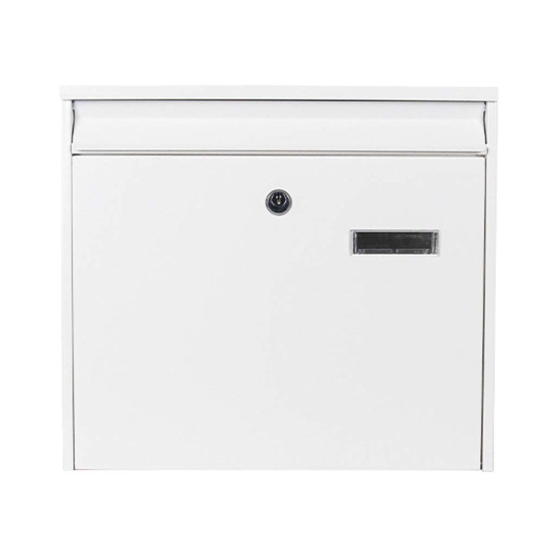 メールボックス、屋外別荘レターボックス防風クリエイティブウォールラージレターボックスメールボックスメールボックス屋外壁掛け(カラー:B)