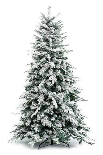 XONE Albero di Natale Innevato Alaska 180 cm - Effetto Realistico