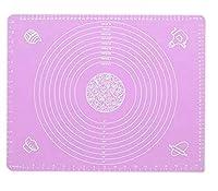 シリコン製 パンマット ベーキングマット 50cm×40cm ピンク