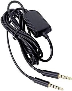 FRTE Ersatz Gaming Audiokabel für Astro A10 A30 A40 A50 Gaming Headset 3,5 mm auf 3,5 mm Kabel für PC MP3 MP4 Mit Fernbedienung