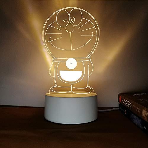 Kreatives Nachtlicht 3D dreidimensionale Beschriftung DIY Persönlichkeit Design Tischlampe Geschenk praktische sinnvolle einzelne Jingle DREI Farbe 3W