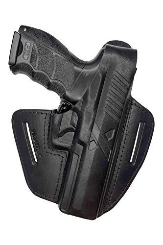 VlaMiTex B20 Black Leather Holster Fits Heckler and Koch...
