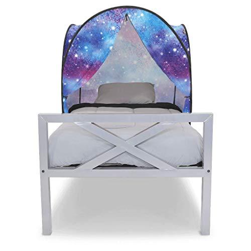 Privacy Pop Mini Bed Tent - Full/Unicorn Galaxy