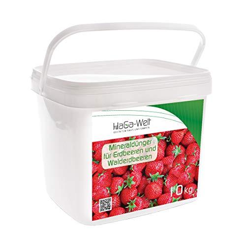 Engrais minéral pour fraises et fraises des bois - Engrais pour fruits - Engrais de la forêt 10 kg