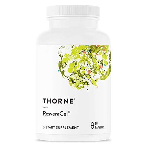 Thorne Research - ResveraCel - Nicotinamide Riboside (Niagen) con Resveratrolo e Cofattori - Favorisce l'Invecchiamento Sano - 60 Capsule
