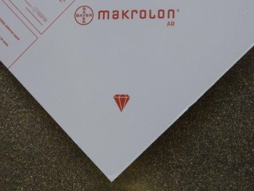Plaat Makrolon AR polycarbonaat kleurloos 998 x 590 x 3 mm, Lexan Margard gesneden alt-intech®