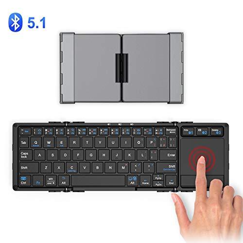 41x8ihzsMNL-折り畳み式フルキーボードの「iClever  IC-BK05」を購入したのでレビュー!小さくなるのはやっぱ便利です。