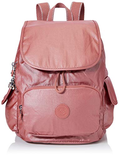 Kipling Damen City Pack S Rucksack Rot (Metallic Rust)