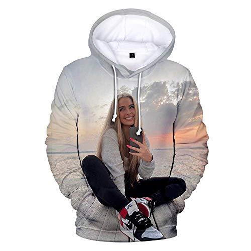 MIHE Herbst Winter 3D Addison Rae Hoodies Männer Sweatshirts Frauen Mode Harajuku Hip Hop Hoodie Jungen Mädchen Addison Rae Pullover