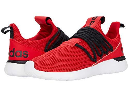 adidas mens Lite Racer Adapt 3.0 Running Shoe, Scarlet/Black/White, 6.5 US