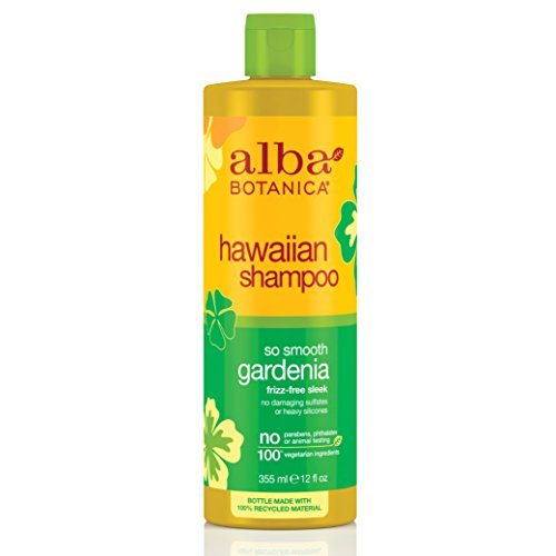 Alba Botanica So Smooth Gardenia Hawaiian Shampoo, 12 Ounce Bottles (Pack of 2) by Alba Botanica