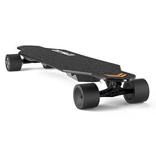 EPIKGO Electric Longboard Skateboard with Dual-Motor Smart Skateboards [7 Ply Bamboo Board] and...