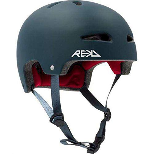 REKD Ultralite In-Mold Helmet Casco Skateboard Unisex Adulto, Azul (Blue), 53-56 cm