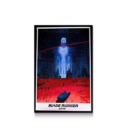 LPHMMD Art Deco Leinwand Blade Runner Film Hot Art Poster Leinwand Malerei Print Home Decor Wandbild-60x90cm