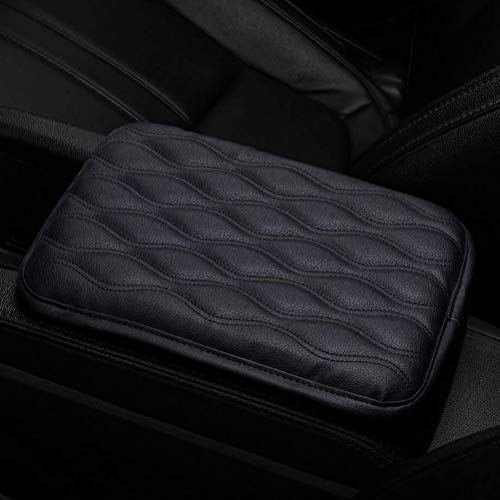 Auto Center Console Pad, Universal PU Leather Auto Armrest Cushion Pads, Waterproof Center Console Box Armrest Protector Perfect for Most Vehicle SUV Truck Car Accessories