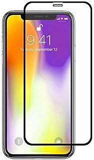 ابل اي فون XS ماكس (6. 5 بوصات) لاصقة حماية زجاجية AKD لتغطية كاملة 5D - اسود