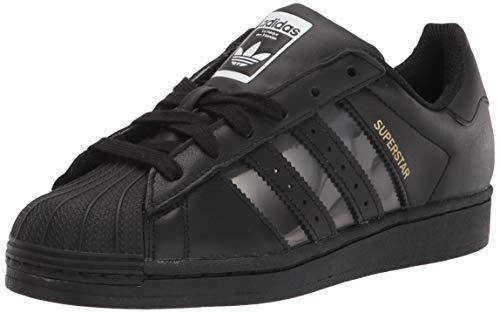 adidas Originals Superstar, Zapatillas Deportivas. Hombre, Negro, Color Blanco, 43 1/3 EU