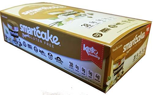 Smart Baking Company Smartcake, Sugar Free, Gluten Free, Low Carb, Keto Dessert(Vanilla Latte, 8 CT)