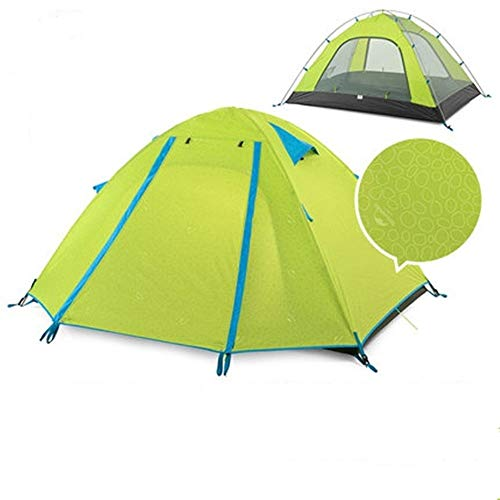 TYGYDLQ Outdoor Tent, Camping Tents, Thick rain and Sun Tent, Camping Equipment, Suitable for 2 People Family Camping Tent (Color : C)