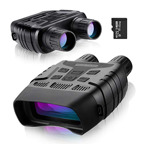"""FREE SOLDIER Night Vision Goggles Binoculars - Digital Infrared Binoculars for Adults with Night Vision 984ft Viewing Range with 2.31"""" TFT Screen 32GB Memory Card Spy Gear for Hunting & Surveillance"""