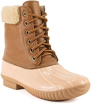 AVANTI Women s Jango Lined Duck Boots Rain Boots Shell Pink 7 product image