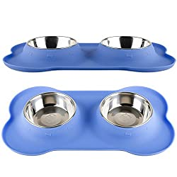 Fossa No Spill Stainless Steel Dog Food Bowl