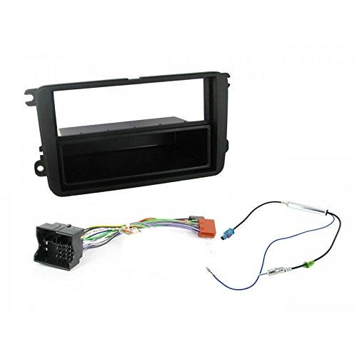 Façade Cadre Cable de Conexion Autoradio 1 DIN Volkswagen / Skoda + fakra