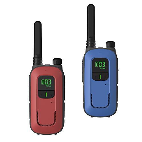 Walkie Talkie Niños Batería Recargable 3 Marca Radioddity