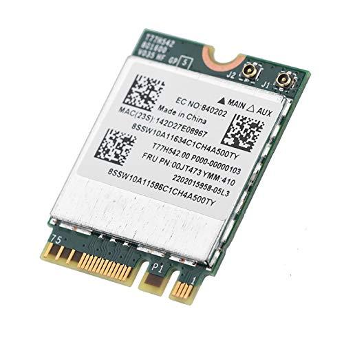 433Mpbs 2.4G / 5G Tarjeta WiFi Mini Dual Band Tarjeta de Red de Mejor Rendimiento para computadora
