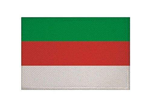 U24 Aufnäher Helgoland Fahne Flagge Aufbügler Patch 9 x 6 cm