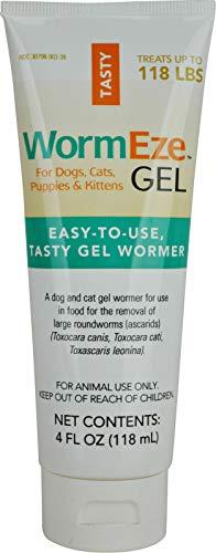 WormEze Gel Dog Cat Worm Remover 4oz