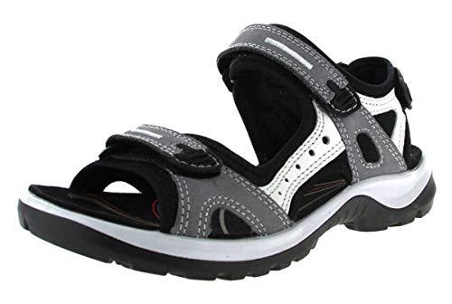 ECCO Damen Sandaletten Offroad 069563-02244-offroad grau 439086