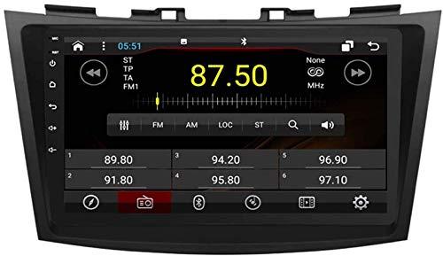 FWZJ Autosion Android 10 Car Radio Player 2 + 16GB GPS Stereo Head Unit Navegación Radio WiFi para Suzuki Swift 2011 2012 2013 2014 2015 2016 2017 Steeirng Wheel Control