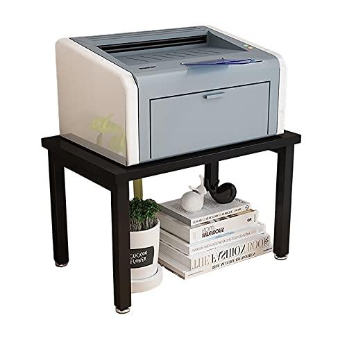 LQ Almacenamiento Cocina Soporte Tabla Estante Desk Desk Office Home Desktop Desk Escritorio 2 Layer Impresora Soporte Oficina Organización Carpeta (Color : A)