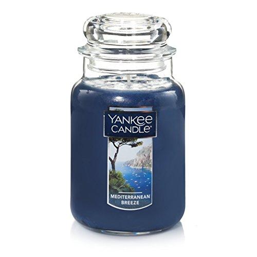 Yankee Candle Large Jar Candle, Mediterranean Breeze,1521678Z,Blue