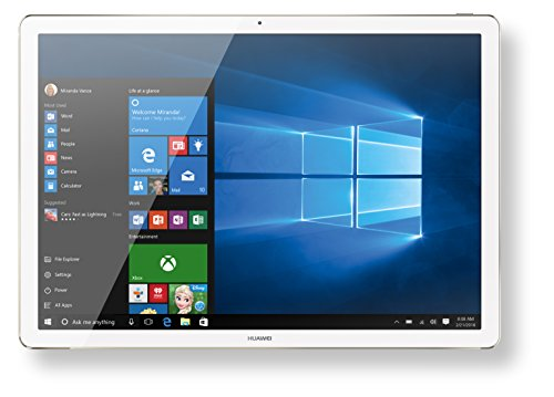 Huawei MateBook (30,5 cm (12 Zoll) Tablet-PC 2-in-1, Intel Core M5, 8GB, 256GB SSD, Win 10) gold