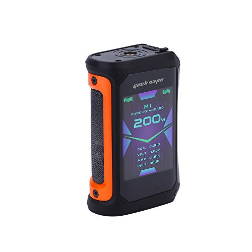 E Cigarettes Geekvape Aegis X 200W TC Mod with 2.4 inch OLED Screen and IP67 Waterproof Design...